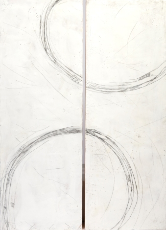"""Last Dance // Encaustic (Beeswax and Resin) and Pigment Stick on Wood Panel - 20x30"""""""